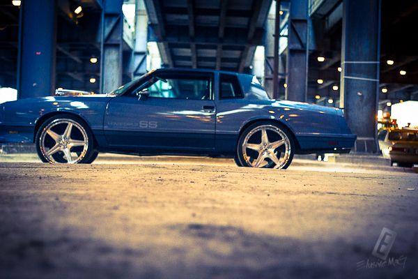 Evil Grin 1987 Monte Carlo SS. 26 inch ASANTI wheels af144 ...