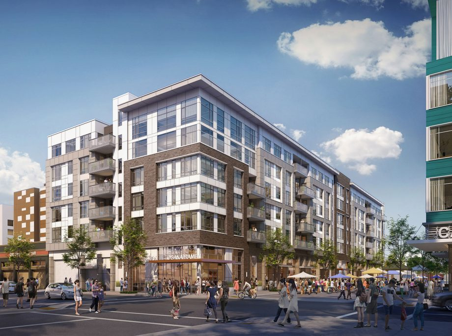 Alexan Webster New Apartments In Oakland Mixed Use Ktgy Architectutre Planning Architecture Building Design Architecture Apartment Architecture