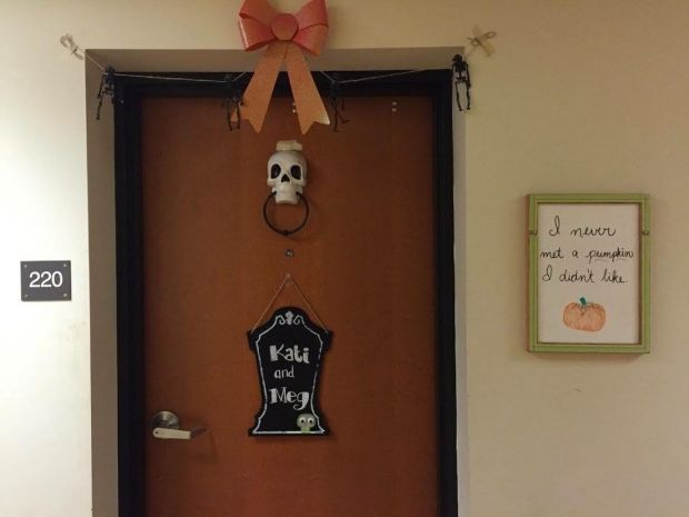 dorm door decor how to decorate your door for halloween