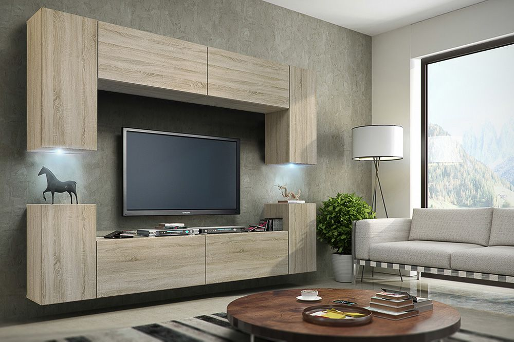 Mueble de salón Berg Sonoma • Prime-Home España – Muebles Casa Ofi ...