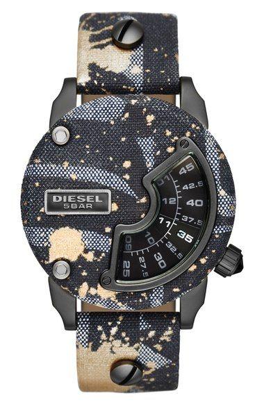 479b1c19f2e8 DIESEL® Mini Daddy Alrite Replica Watch