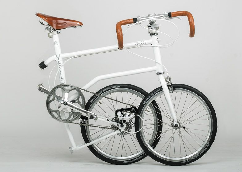 Valentin Vodev S Vello Bike Folds With A Simple Kick Folding