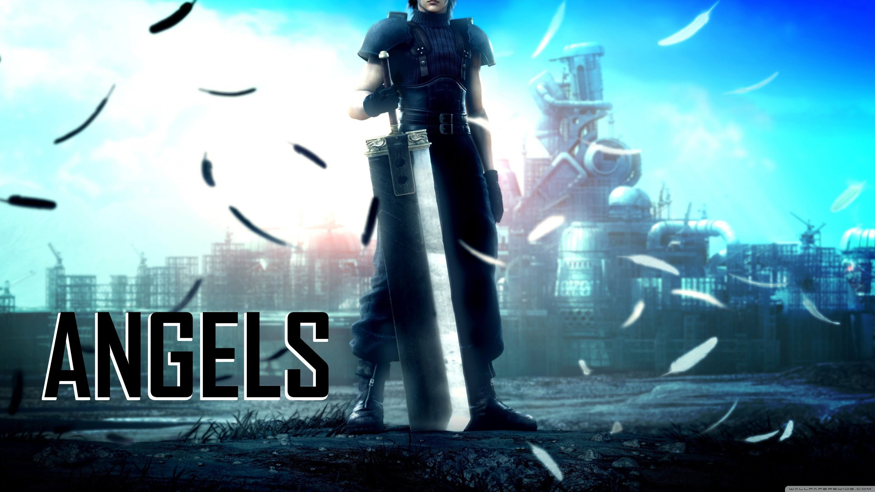 Final Fantasy 7 Angels AMV ( Anime Music Video ) (With