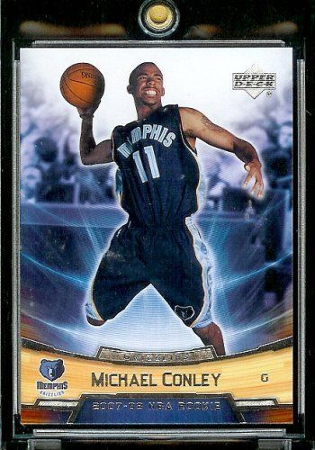 2007-08 (2008) Upper Deck Rookie Box Set # 6 Michael Conley (RC) - Grizzlies NBA Rookie Trading Card by Upper Deck. $0.01. 2007-08 (2008) Upper Deck Rookie Box Set # 6 Michael Conley (RC) - Grizzlies NBA Rookie Trading Card