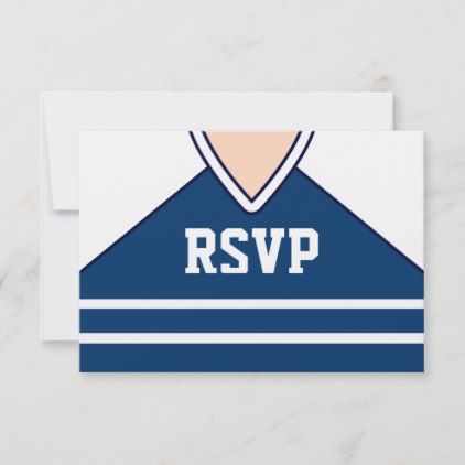 hockey jersey custom rsvp in 2018 birthday cards pinterest