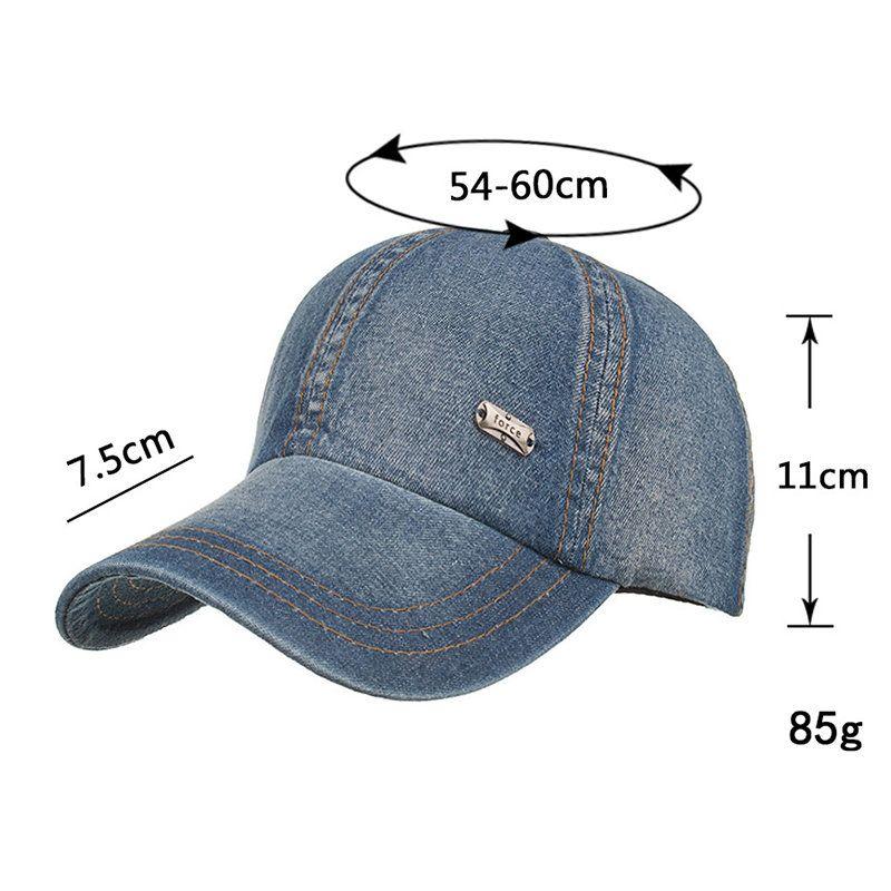 63923d406bd Mens Cotton Summer Sport Baseball Cap Outdoor Sports Travel Sunshade  Snapback Hat