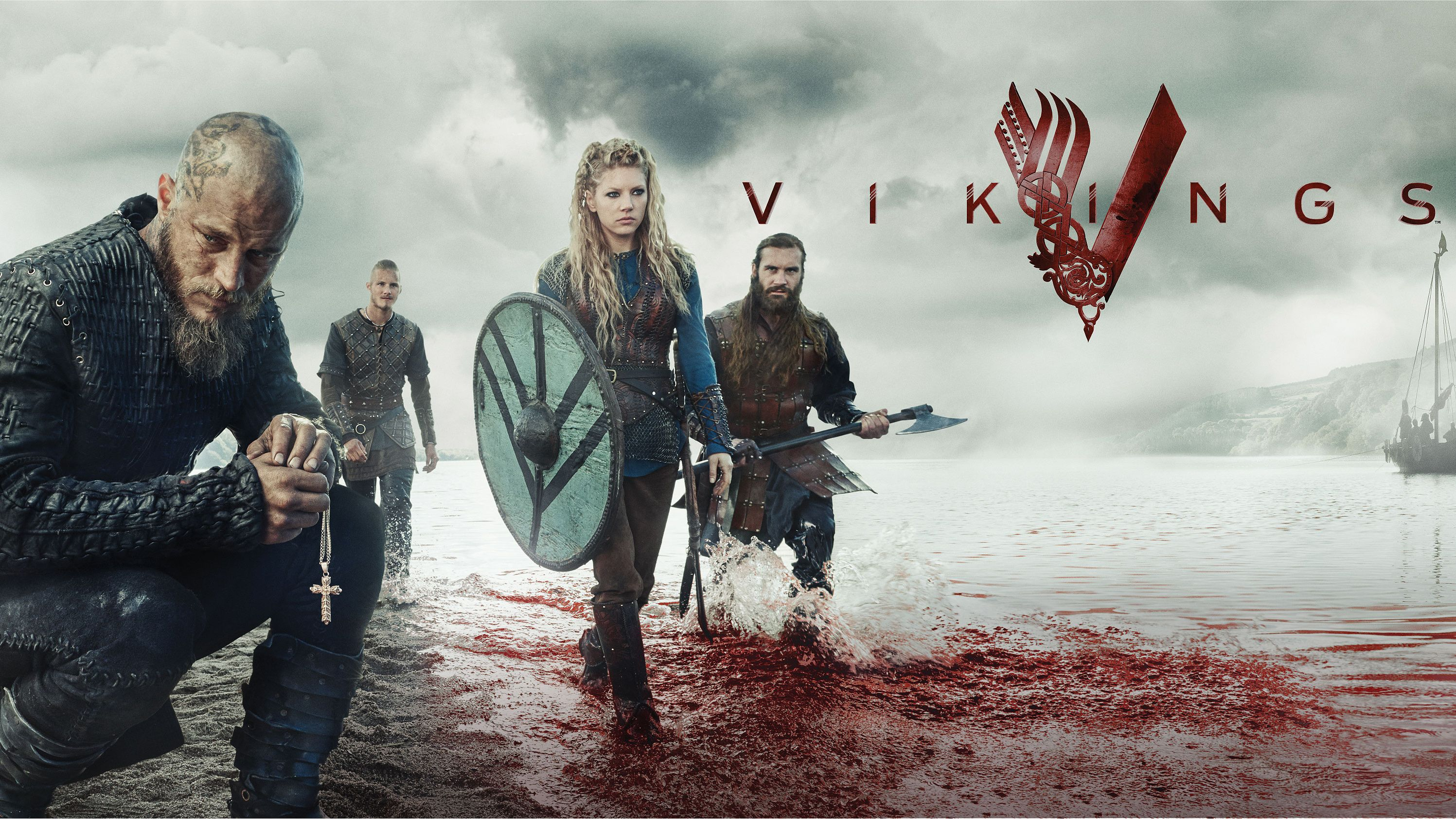 Bien-aimé Vikings Season 5 - This HD Vikings Season 5 wallpaper is based on  UJ32