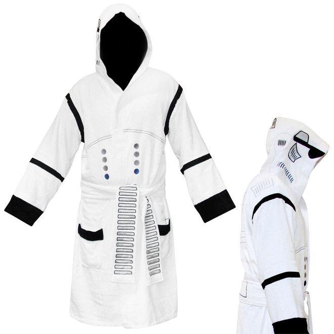 Stormtrooper morgenkåbe - galaxens hyggeligste morgenkåbe!