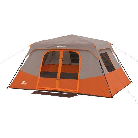 Family c&ing  sc 1 st  Pinterest & Ozark Trail Instant 13u0027 x 9u0027 Cabin Camping Tent Sleeps 8 ...