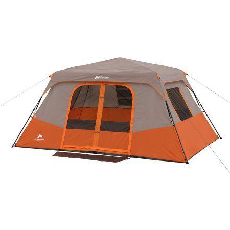 Ozark Trail 8 Person Instant Cabin Tent Walmart Com Cabin Tent Cabin Camping Family Tent Camping