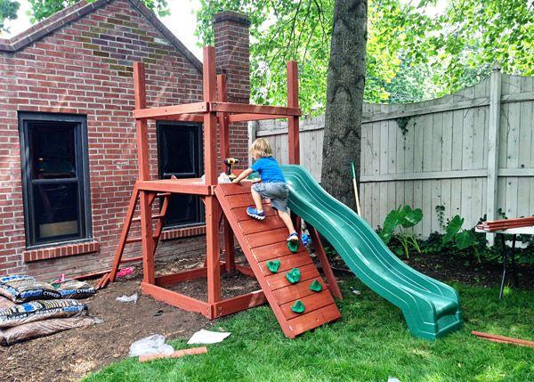 Sweet Small Yard Swing Set Solution Backyard Swing Sets Swing