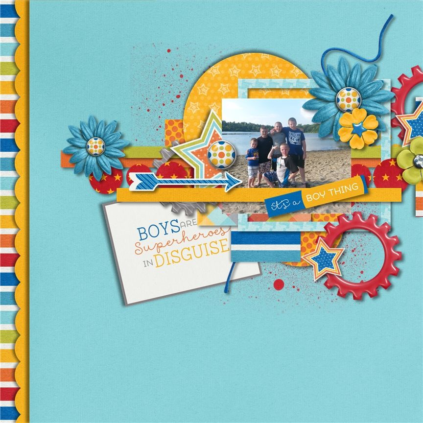 Layout using {It's A Boy Thing} by Tickled Pink Studio http://www.sweetshoppedesigns.com/sweetshoppe/product.php?productid=28347&cat=0&page=2