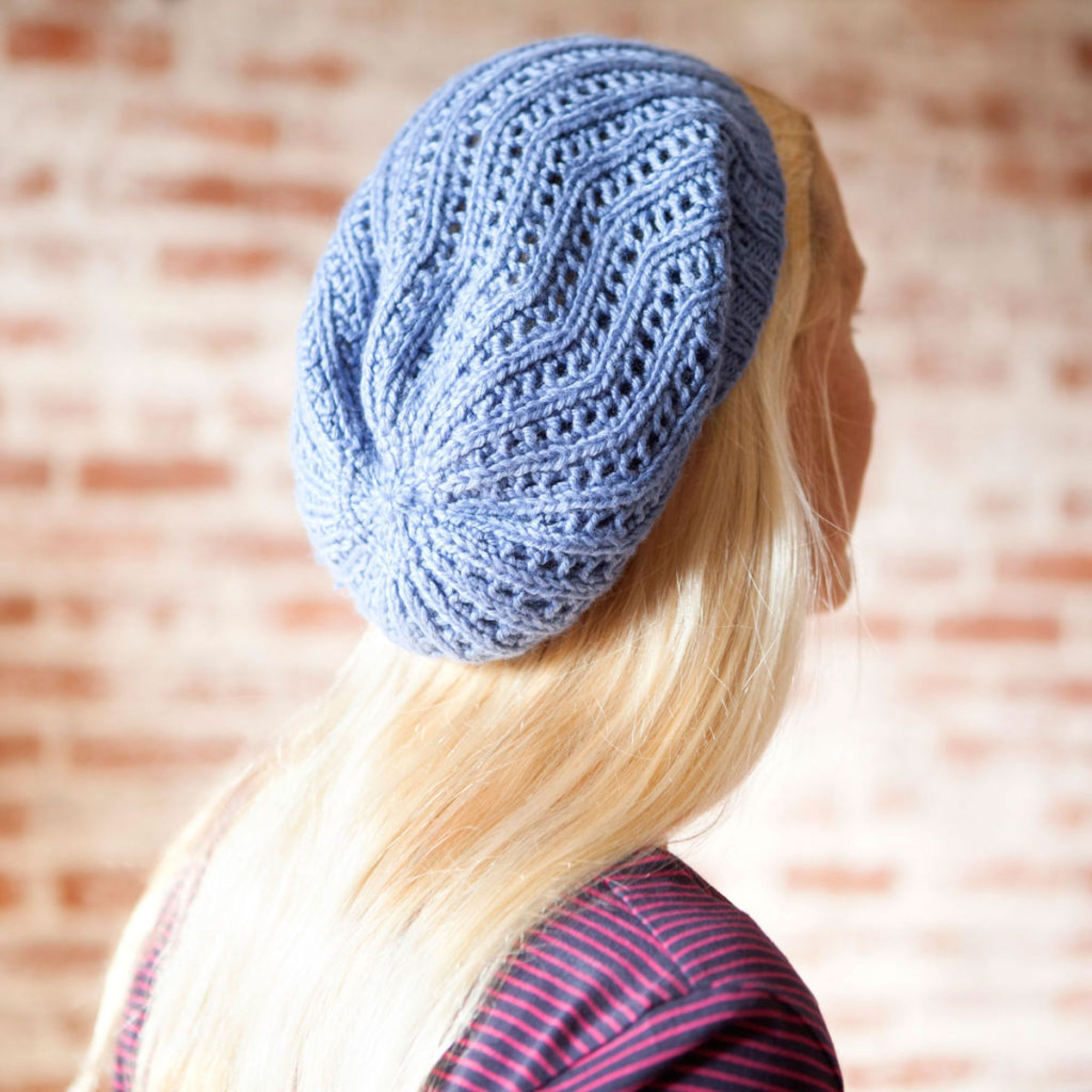 Free knitting pattern for All Day Beret with Debbie Stoller - free ...