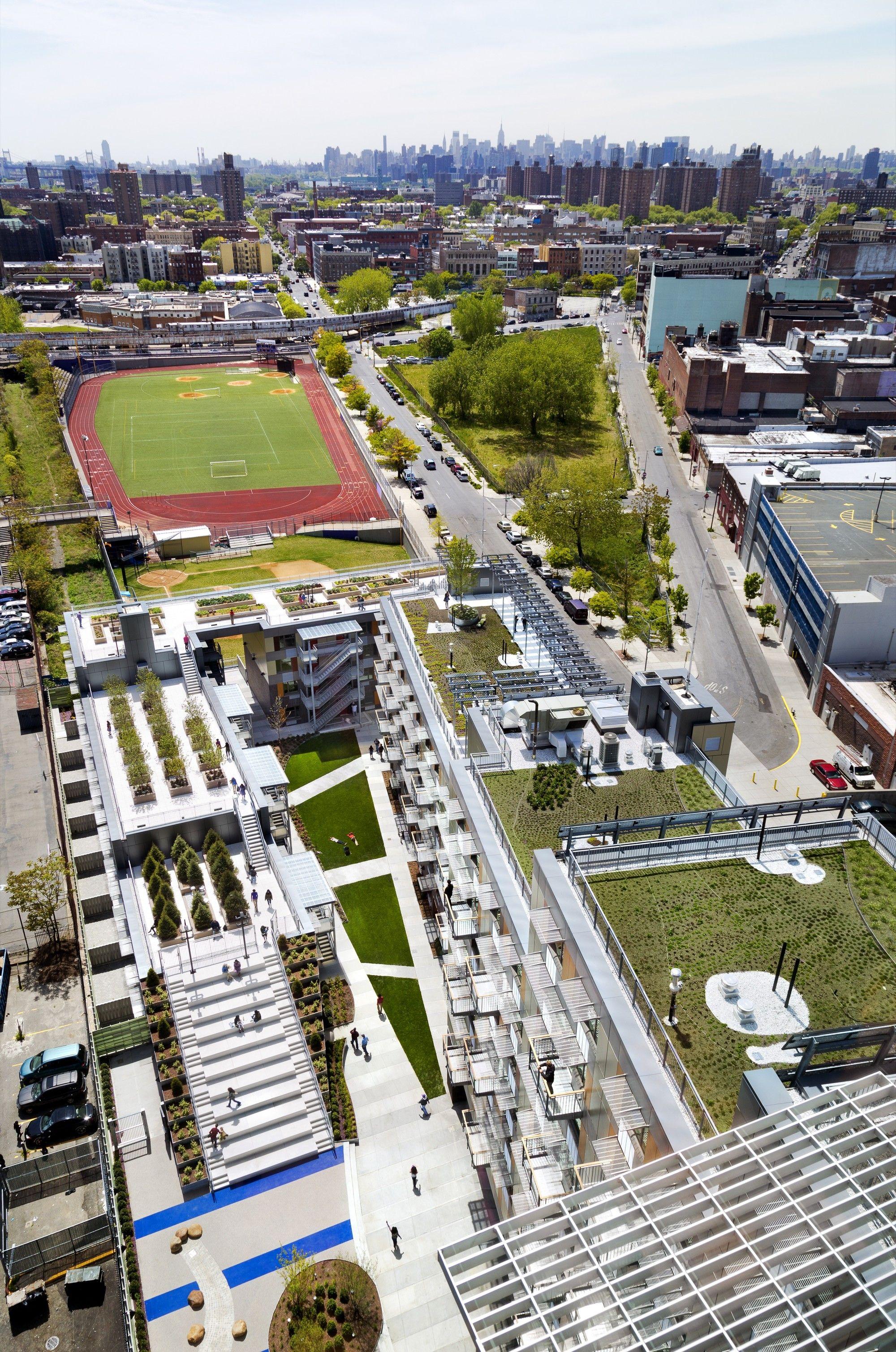 Gallery Of Via Verde Grimshaw Dattner Architects 17 Green Building Architecture Green Building Residential Building Design