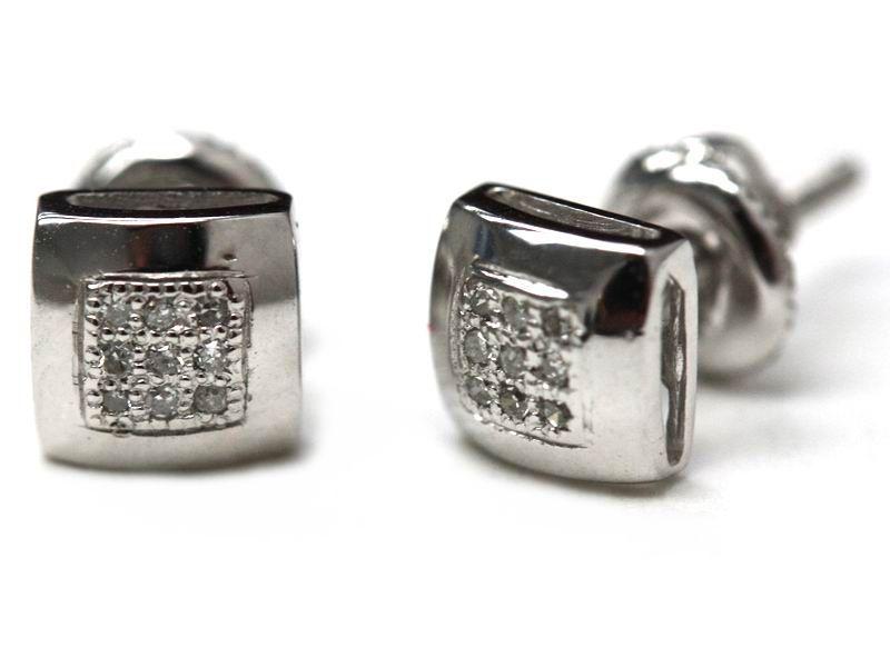 14kt Gold Diamond Earring for Just $126