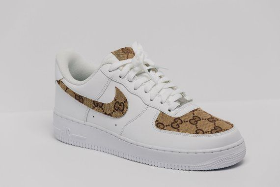 3184220aeeaa3 Nike Air Force 1 Gucci OG Custom Made Premium Designer Edition (all sizes  available)