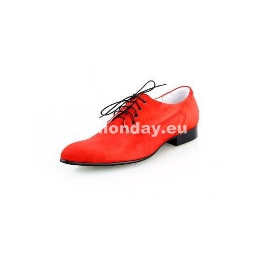 b84c93898df2 Pánske kožené extravagantné topánky červené - fashionday.eu