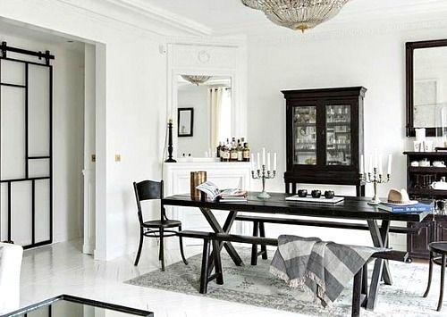 A Paris Apartment Home Room Dining Room Design
