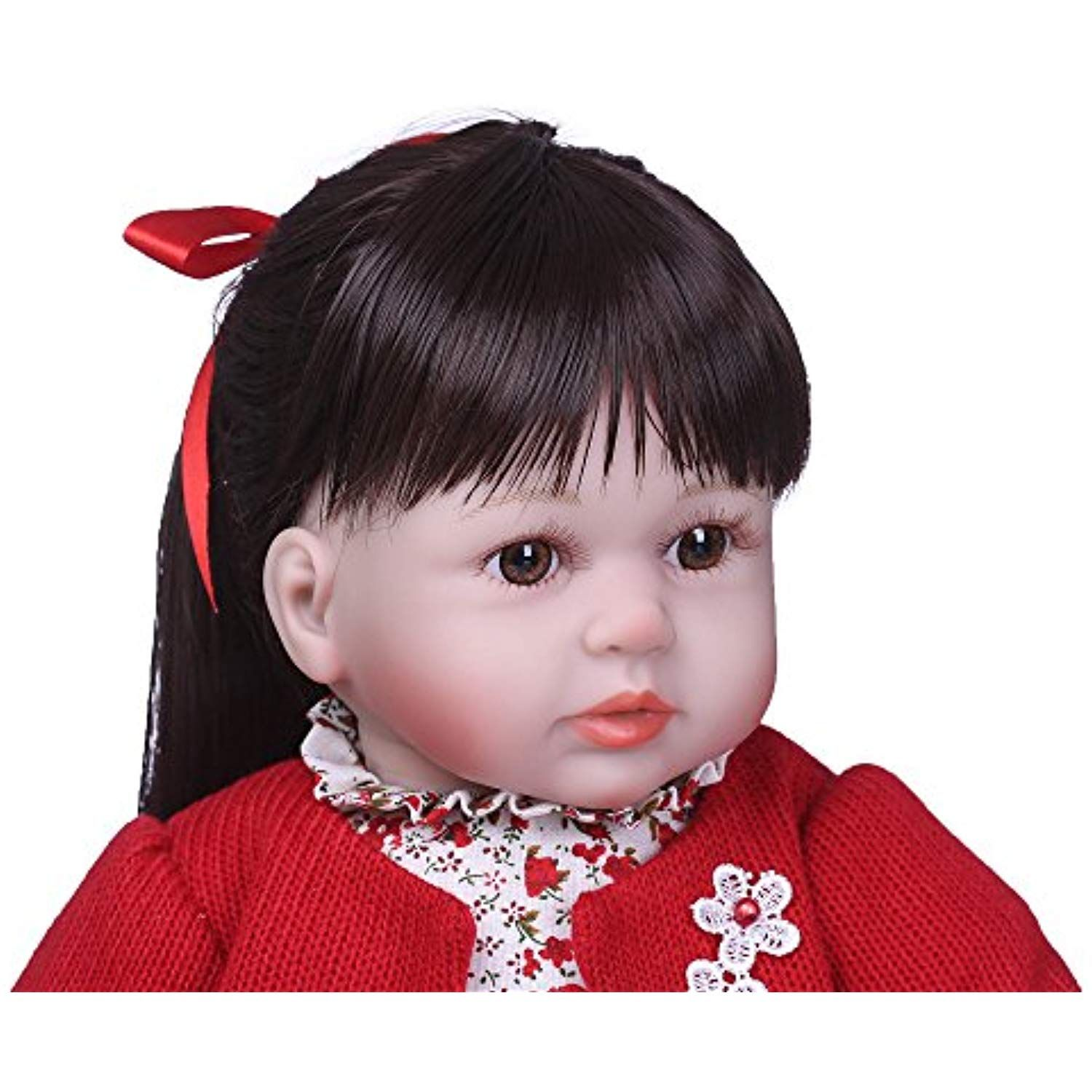 "24/"" Twins Toddler Dolls Lifelike Reborn Baby Doll Boy/&Girl Child Dolls Soft Body"