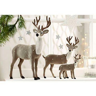 deko hirsch in naturfarben im online shop von baur versand. Black Bedroom Furniture Sets. Home Design Ideas