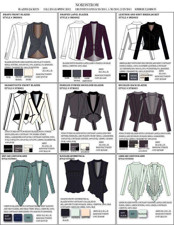Line Sheet Examples By Kimberly Jamison At Coroflot Little