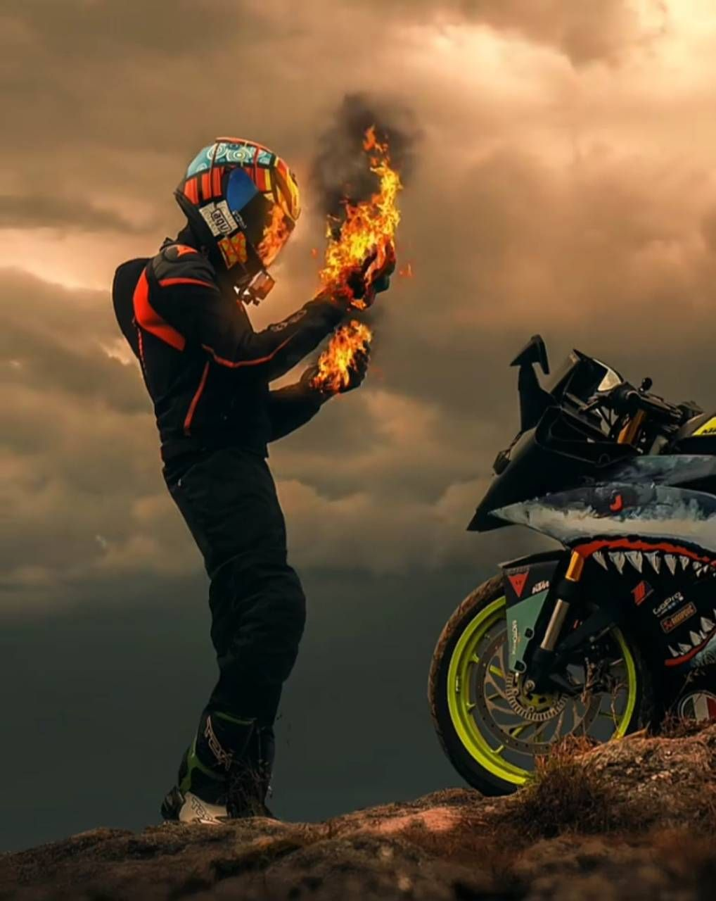 Download Rider Viperrider Wallpaper By Viperpilotktm B3 Free On Zedge Now Browse Millions Of Popular Bike Wall Biker Photography Bike Photoshoot Bike Pic Download ktm motard wallpaper pics