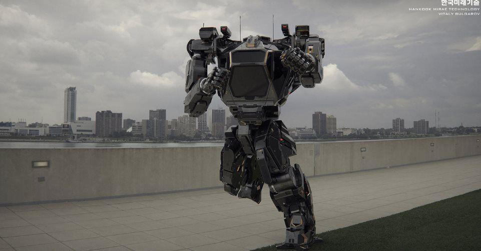 #Robots #corea El super robot coreano muestra su primer vídeo en acción