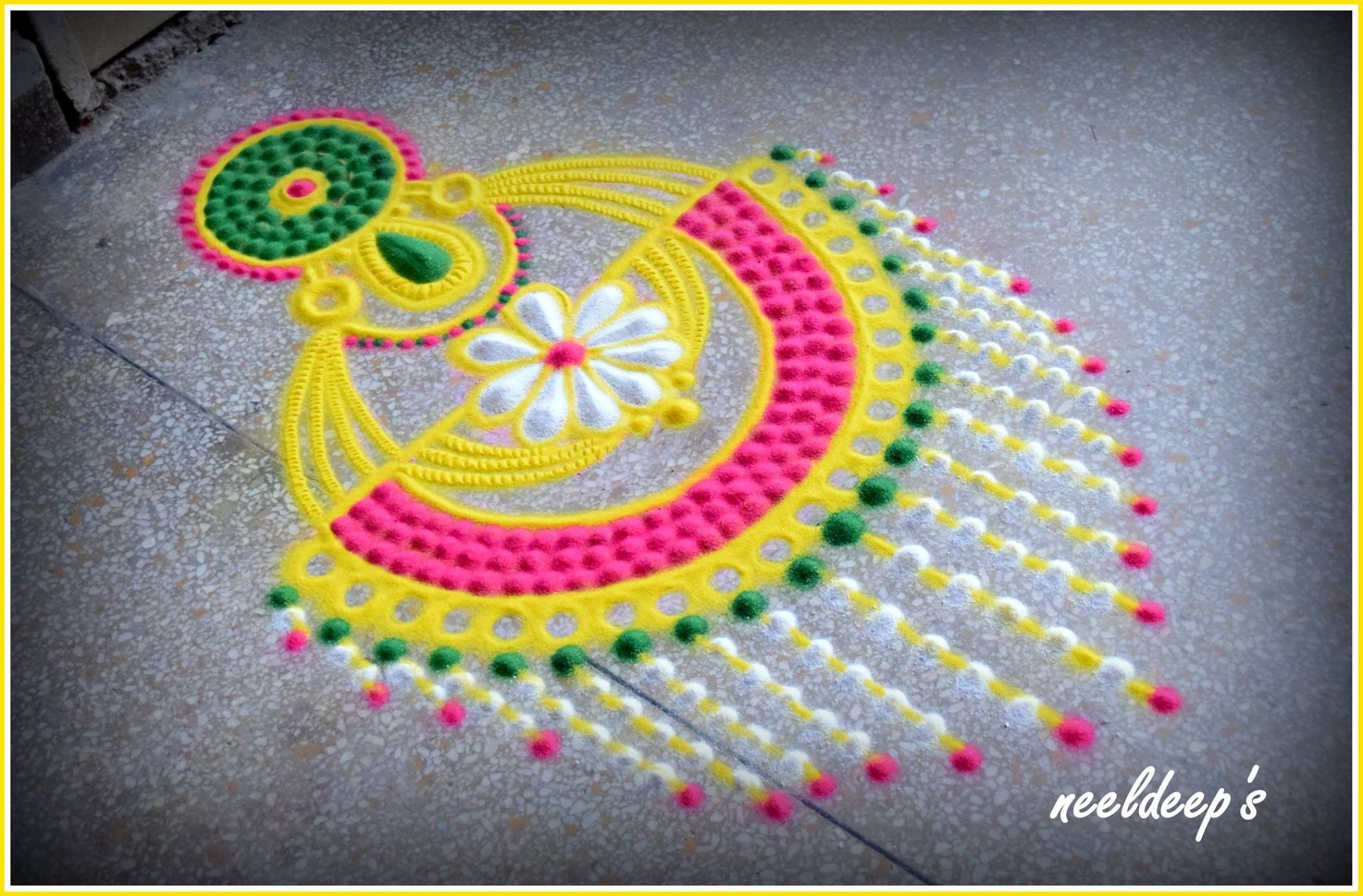 The 25+ Best Festival Rangoli Ideas On Pinterest