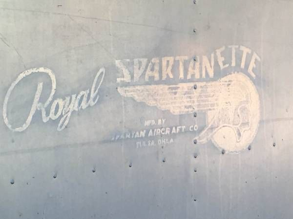 Rare Vintage, 1951 Royal Spartanette Trailer We found this