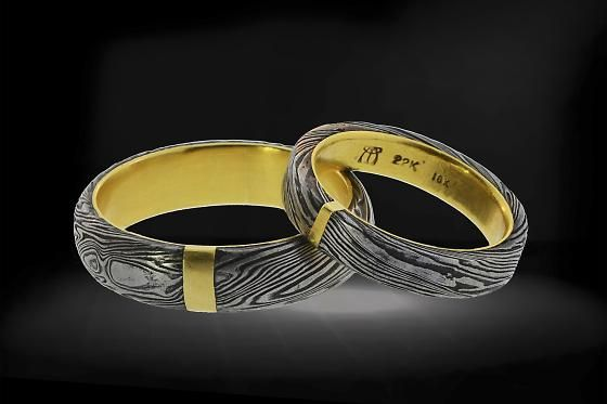 Nontraditional Wedding Rings For Bay Area Couples 7x7 Non Traditional Wedding Ring Custom Jewelry Design Wedding Rings