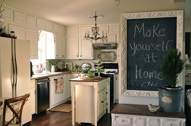 Those darn chalkboards get me everytime For the Home Pinterest