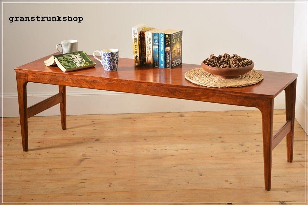 Vintage Coffee Table G Plan Era Mcintosh Teak Danish Design Uk Delivery Ebay Teak Danish Design Home Decor
