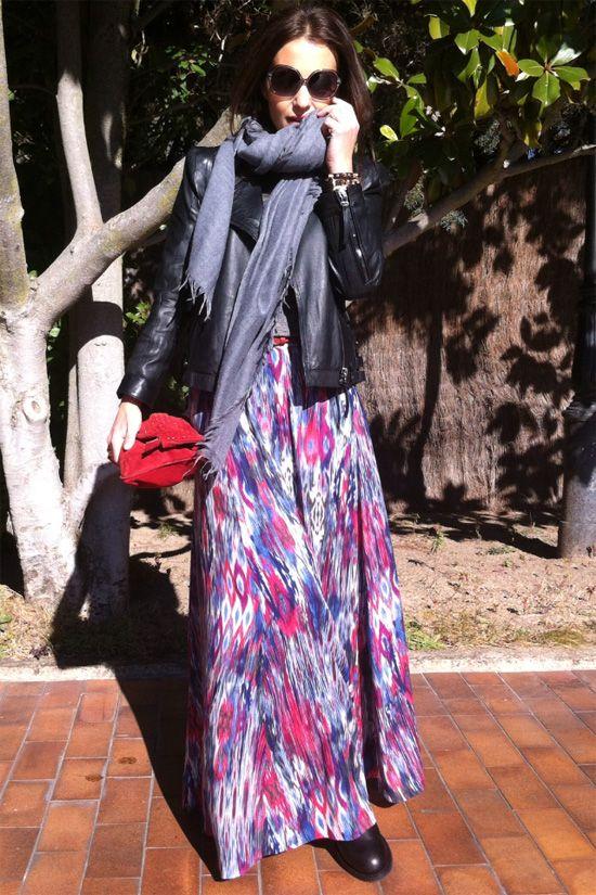 Falda navajo (Zara)