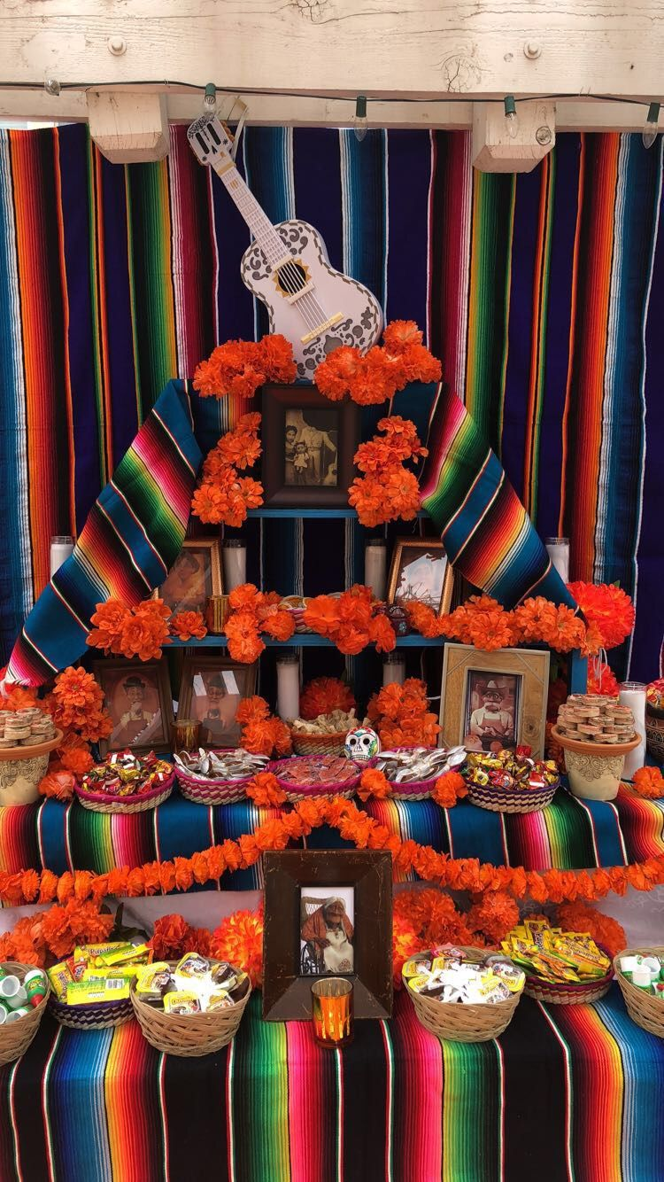 My Coco Inspired Alter Mexican Birthday Parties Mexican Party