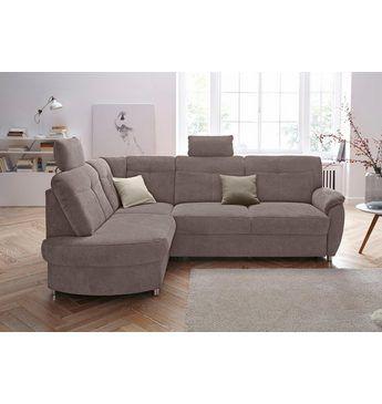 Sit&More Polsterecke, wahlweise mit Bettfunktion und Bettkasten ...