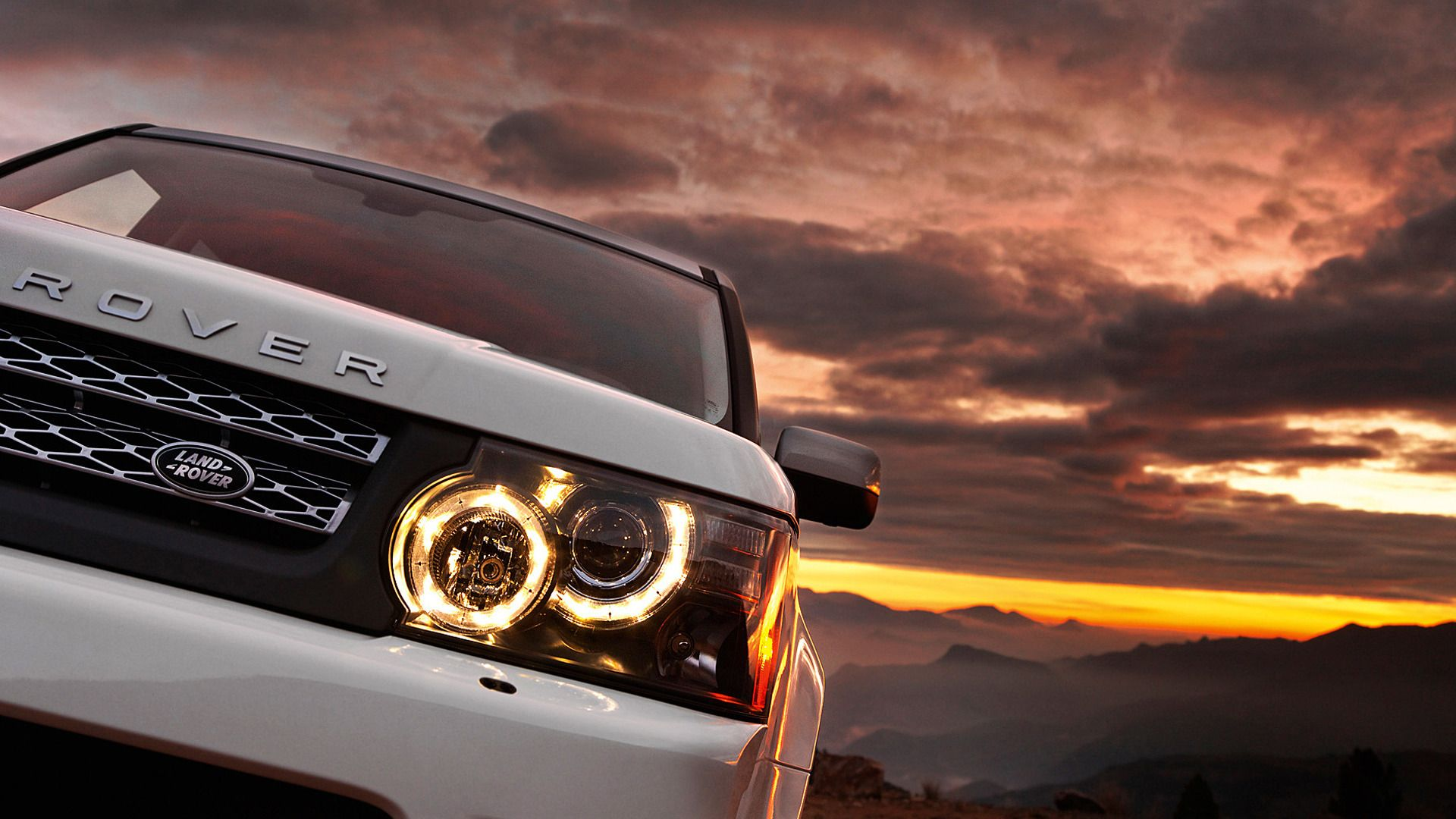 Sunset Range Rover Wallpaper Range Rover Land Rover Range Rover Sport