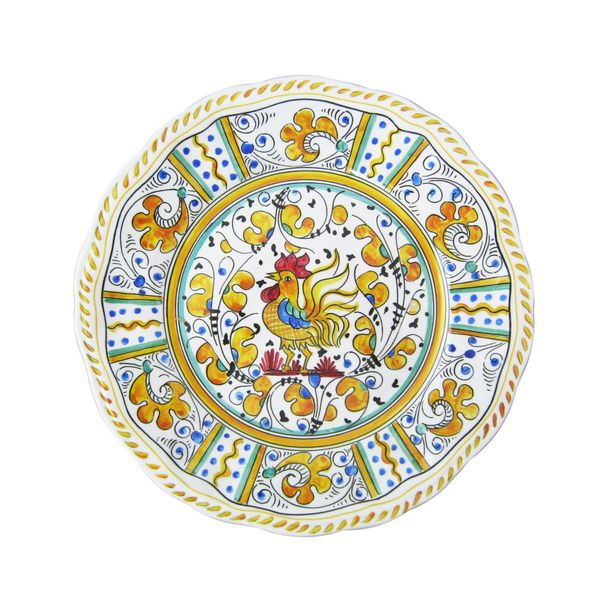 Dining  sc 1 st  Pinterest & Rooster Salad Plate Ylw 4 Piece | Salad plates and Dining