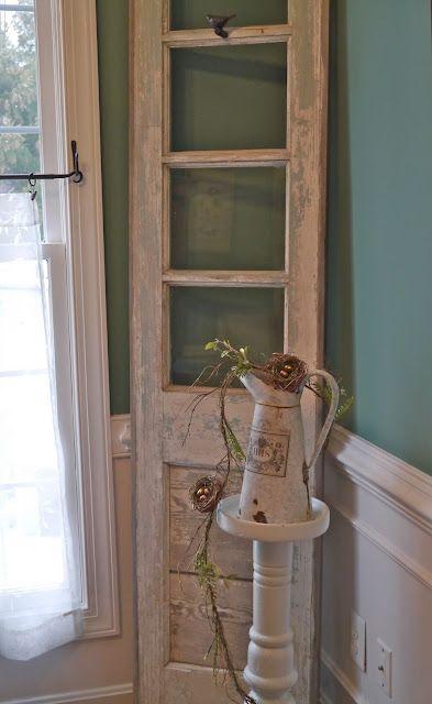 door with panes