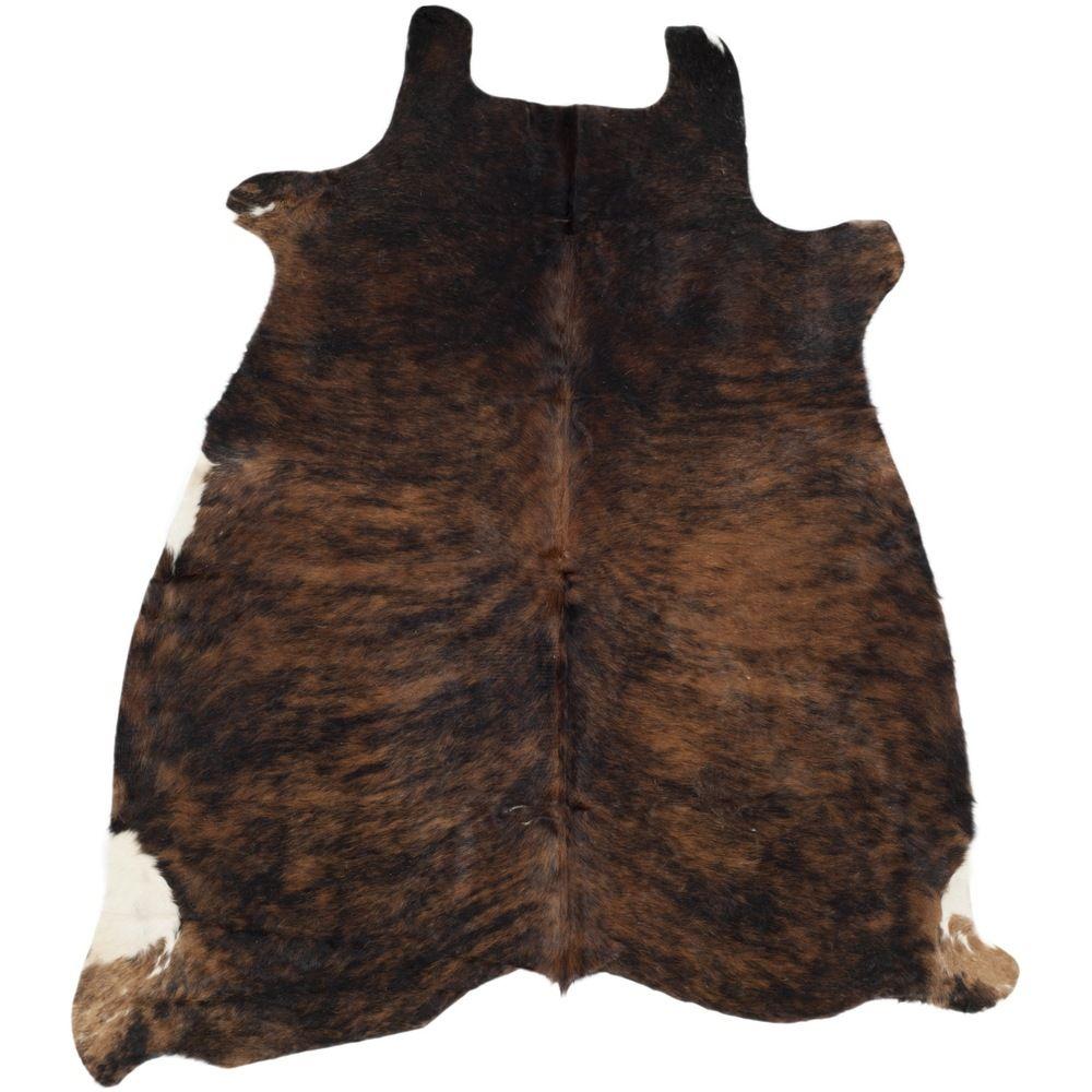 Safavieh Handmade Cow Hide Lorean Cabin Lodge Leather Rug With