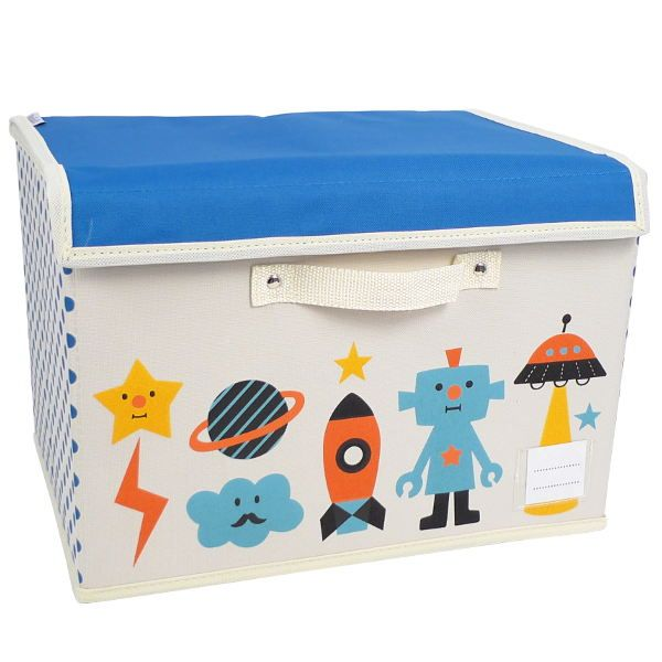 Bright Colorful Toy Storage Options For Kids