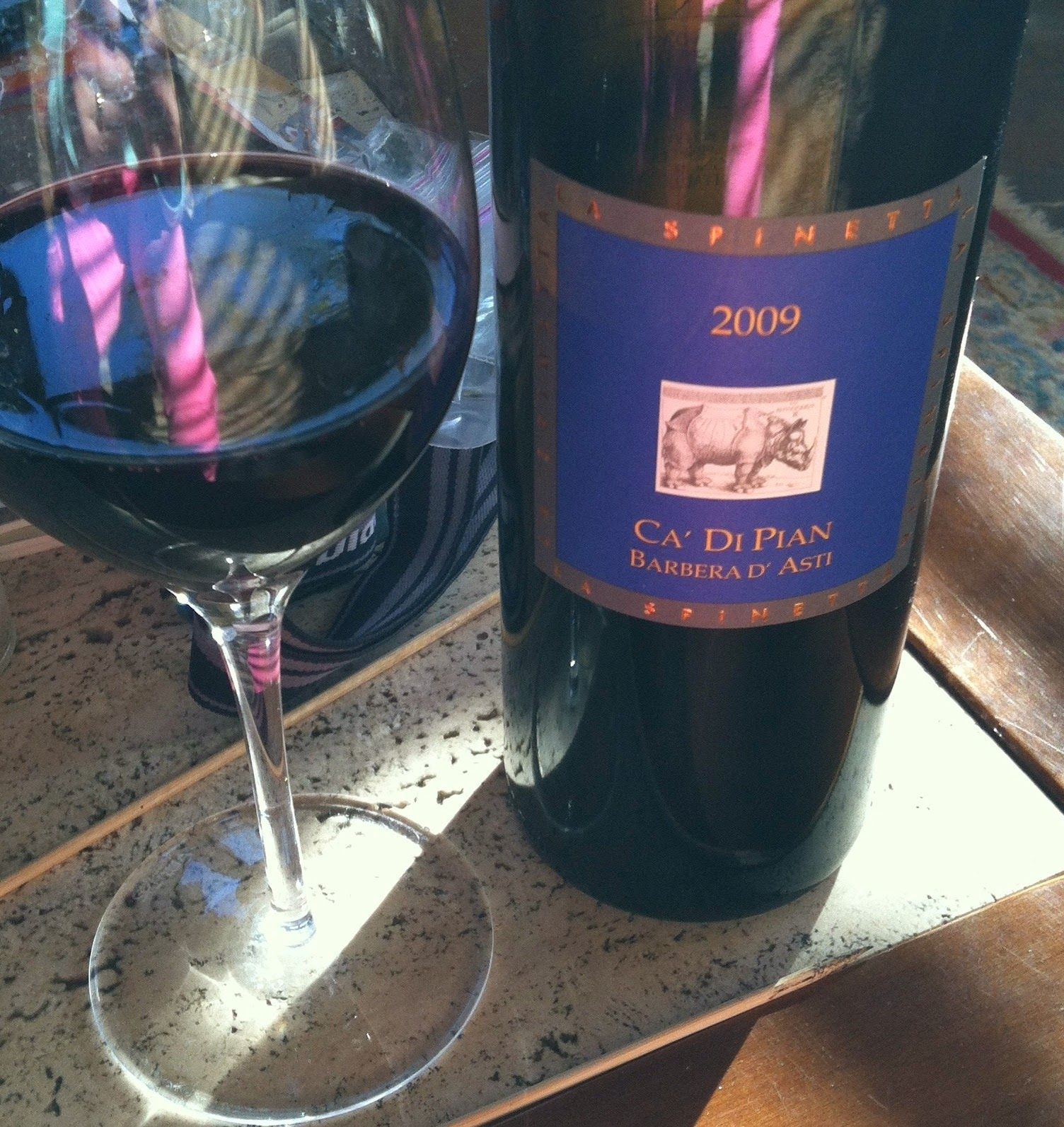 La Spinetta Barbera d'Asti 2009   Wine Review