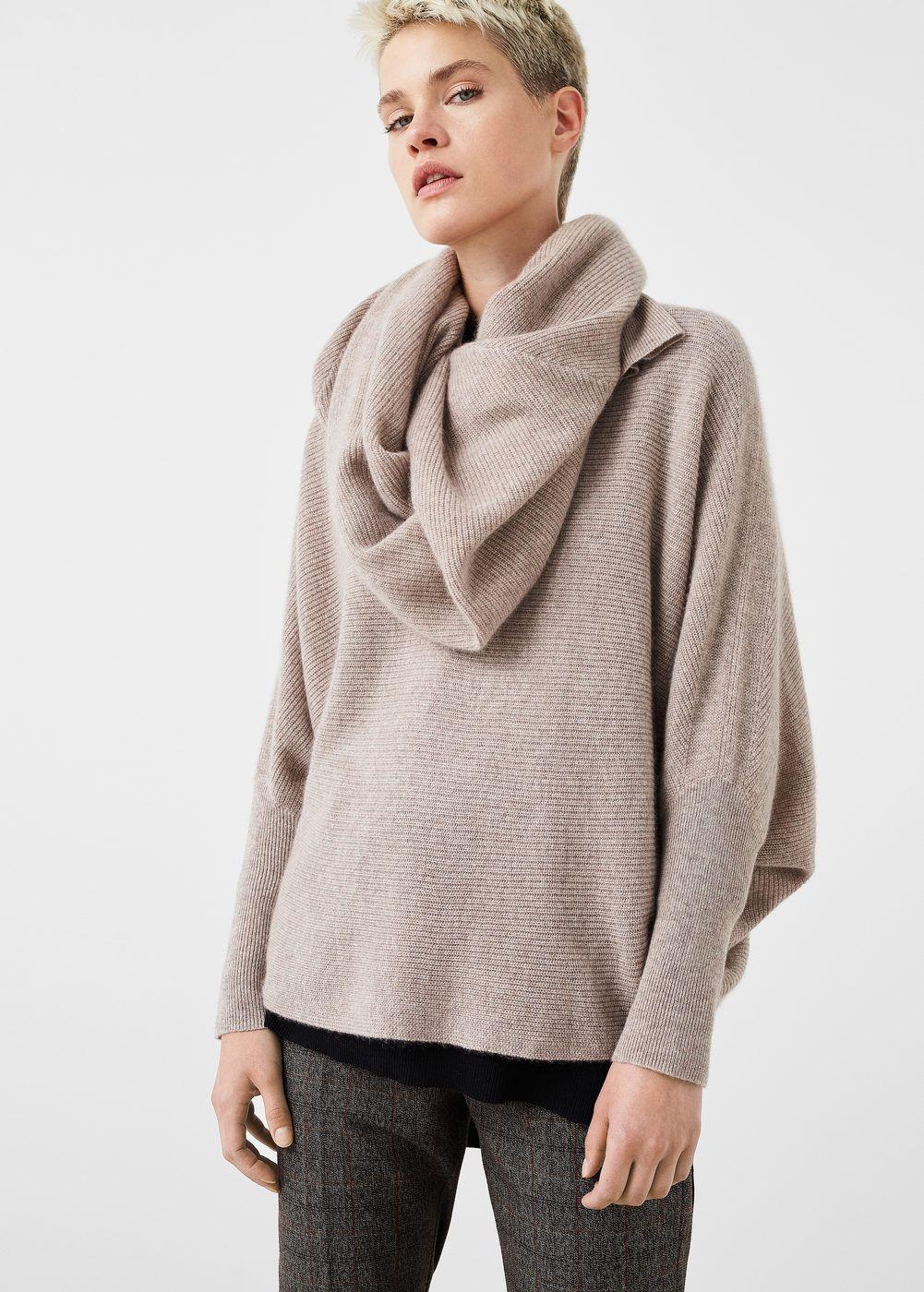 Pullover oversize 100 % cashmere - Donna 1176c829fe4