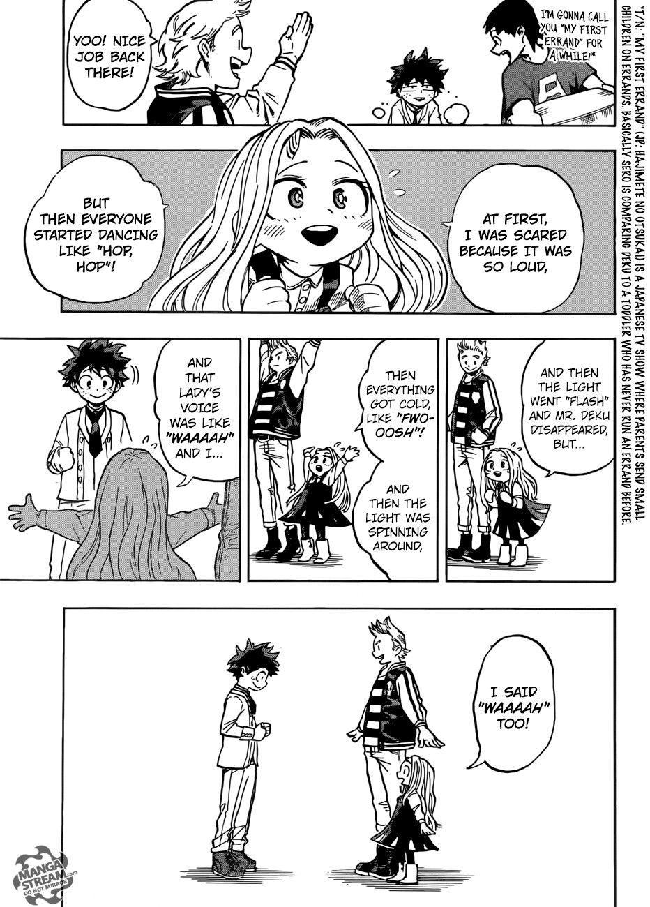 Ch 183 Boku No Hero Academia Manga Eri Chan My Hero Academia Manga Hero My Hero