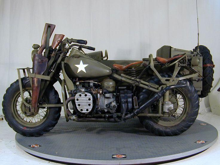1942 Harley-Davidson XA (3) | Classic harley davidson