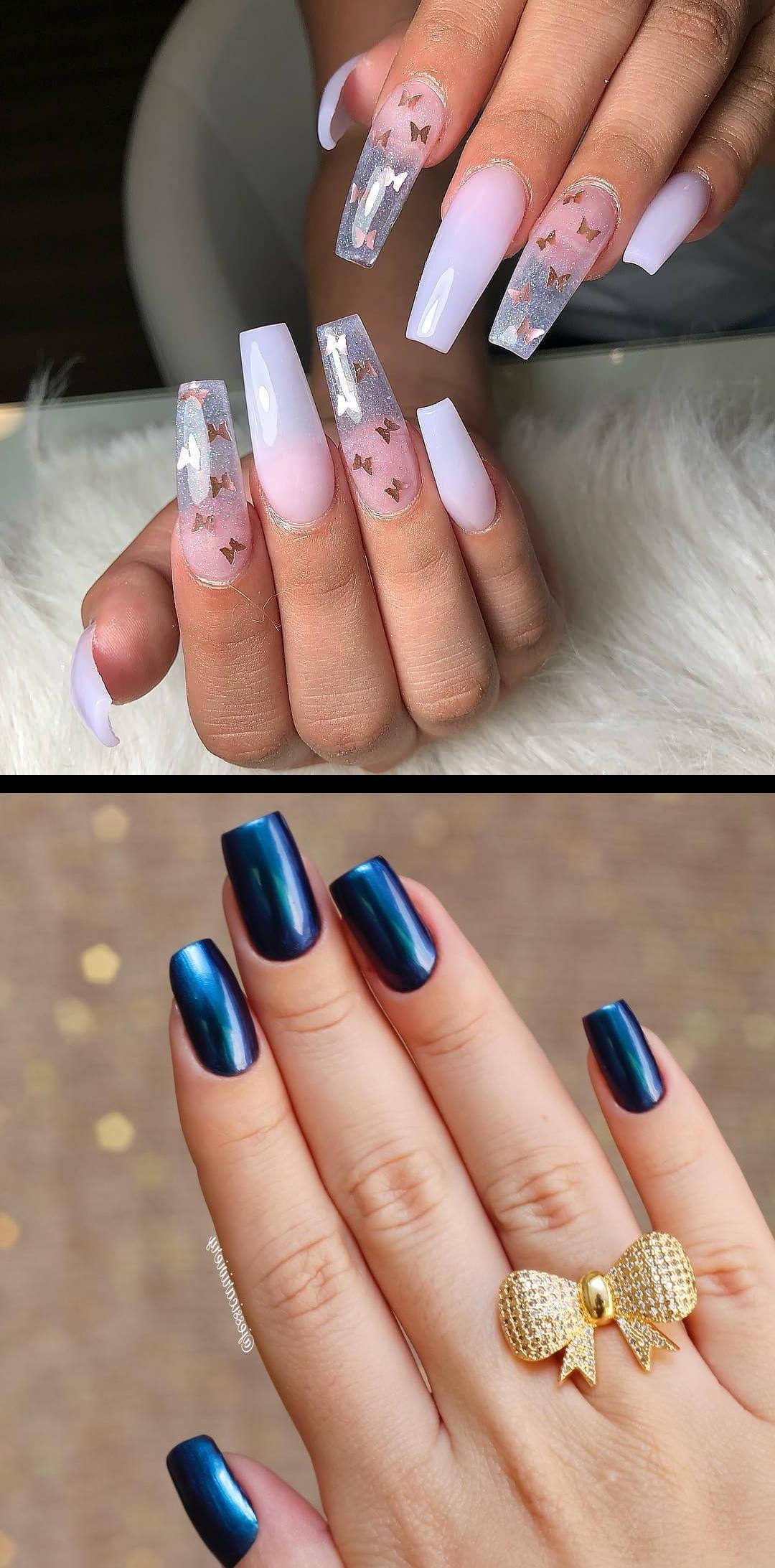 White Acrylic Nails Acrylic Nails Coffin Princess Nails Nail Supply Store Sunshine Nails Butterfly Nailsnails White Acrylic Nails White Nails Nails
