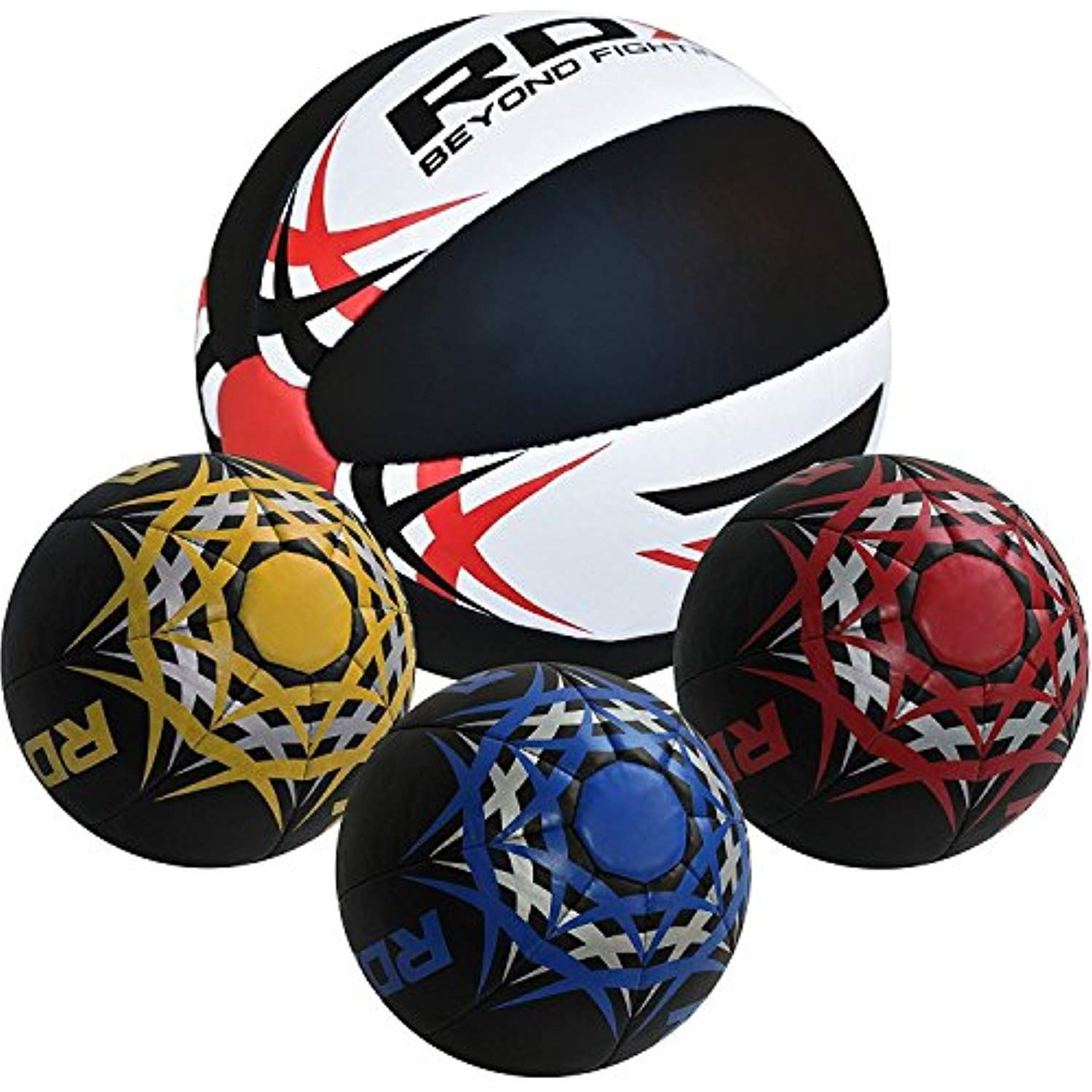 RDX Heavy Crossfit Medicine Ball Weighted Fitness Training