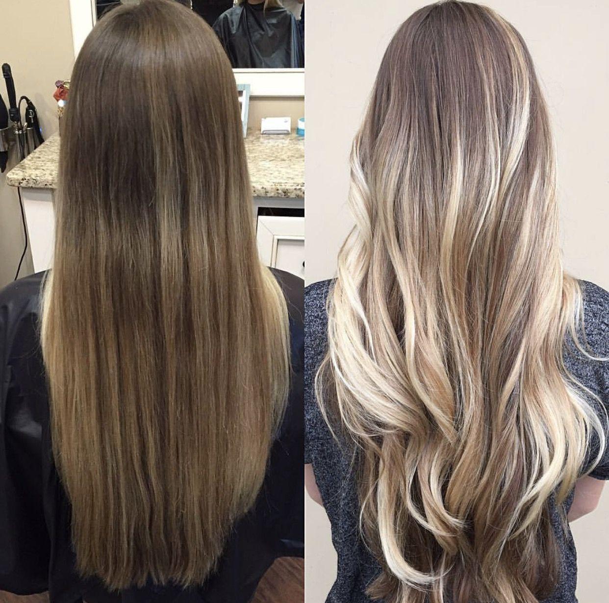 Виды мелирования волос: 11 модных типов с фото
