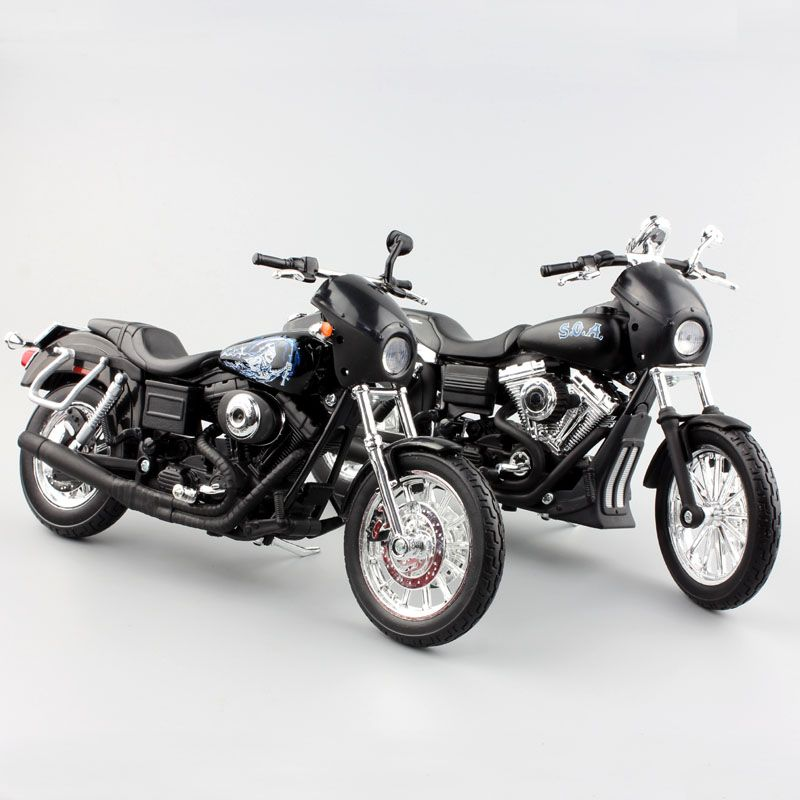 promo 112 scale kids harley motorcycle 2003 dyna super