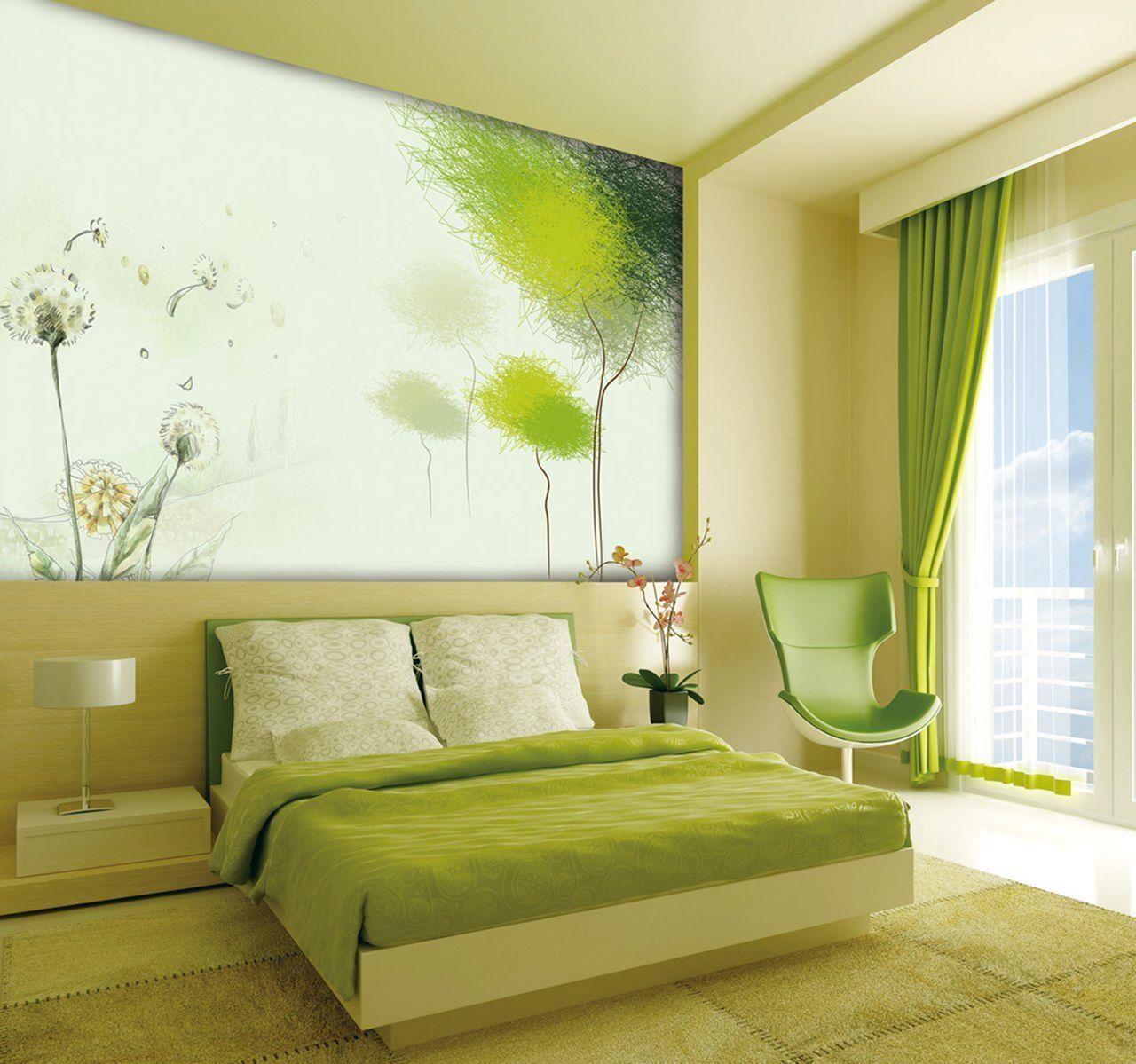 15 Cozy Bedroom Design Ideas With Green Color Schemes