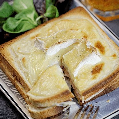 Croque-Monsieur au camembert